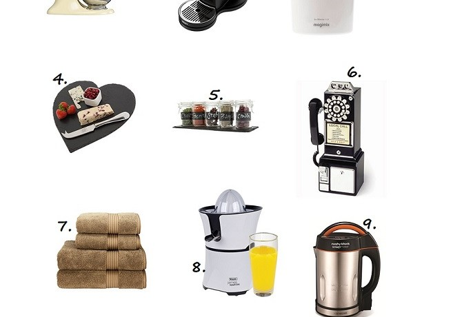 10 Christmas gift ideas for the home