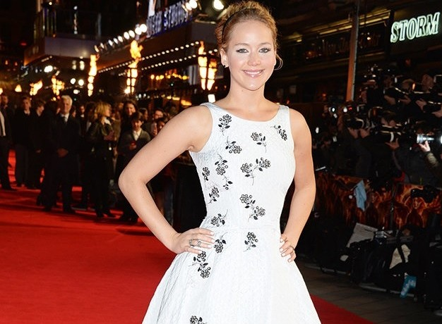 Jennifer Lawrence is picture perfect at Hunger Games world premiere
