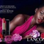 Crushing on Lupita's lipstick in her latest Lancôme ad