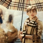 Romeo Beckham shines as the star of Burberry's Christmas campaign