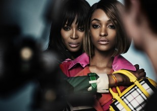 Naomi Campbell and Jourdan Dunn star together for the first time in Burberry SS15 campaign