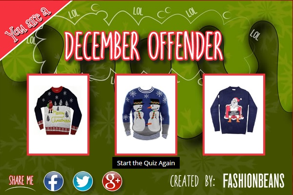 Which Christmas jumper are you?