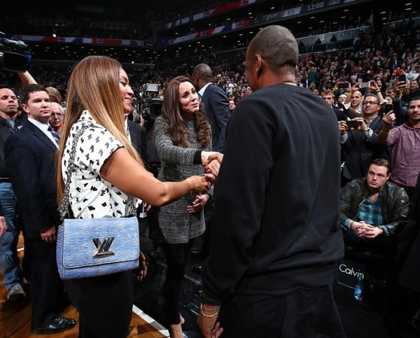 When Prince William and Kate Middleton met Jay Z and Beyoncé