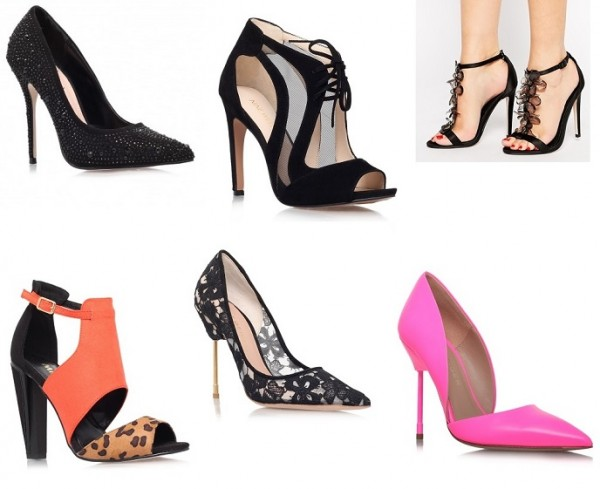 Step into the New Year in style with our top 10 party heels