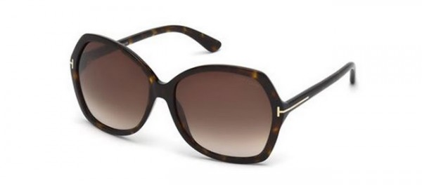 We're crushing on these Tom Ford oversized sunglasses for our winter hols!