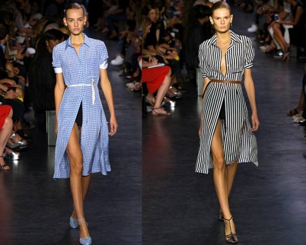 We're loving the shirt dress for spring!