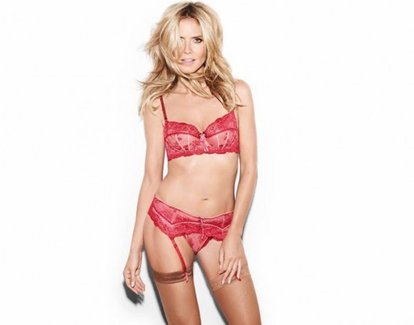 Stay gorgeous in Heidi Klum's intimates. 5 perfect pieces of lingerie!