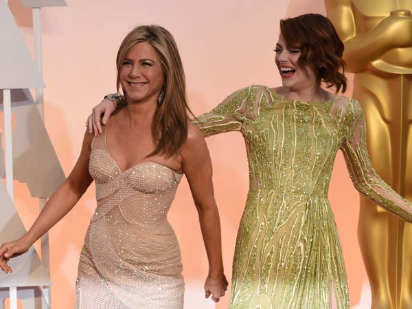 Love, love, love! Our 10 best dressed at the Oscars 2015