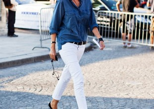 15 Of The Best Cool White Jeans AND How To Wear It
