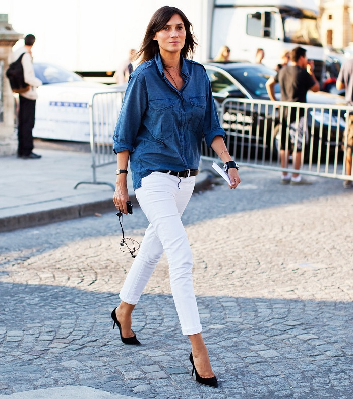 15 Of The Best Cool White Jeans