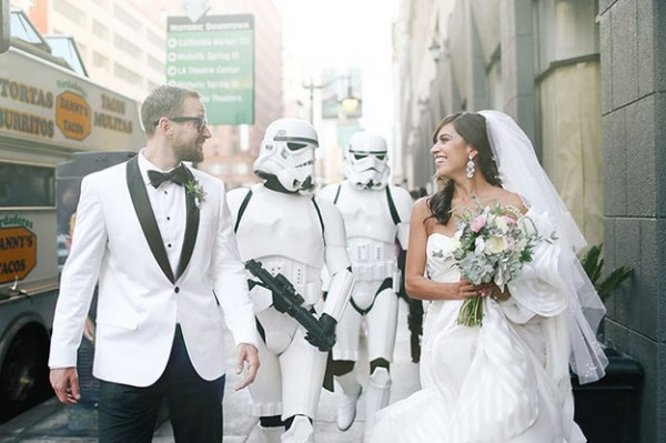 Star Wars Weddings: Nuptials in a Galaxy Far, Far Away