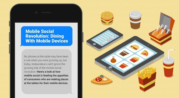 Infographic: Dining With Your Mobile