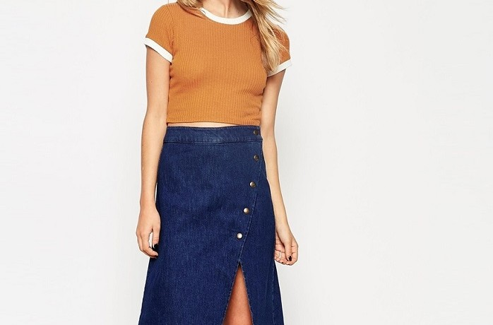 10 Versatile Denim Midi Skirts To Complete Your Seventies Wardrobe