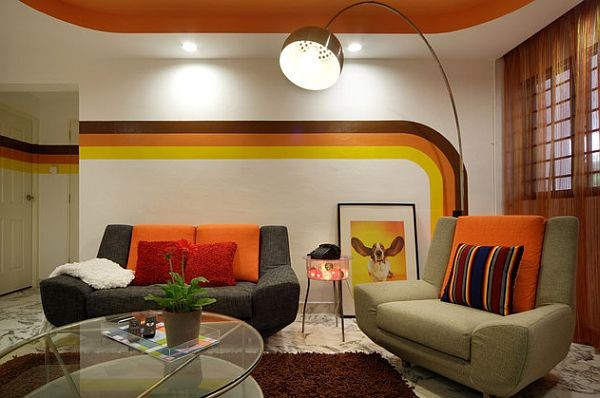 Groovy Design Revival: How to Retrofit Your Home in 70's Style