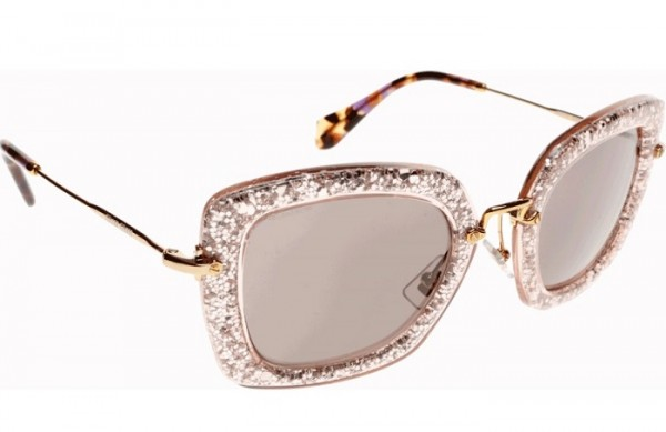 We're Lusting After Miu Miu's Glitter Cat Eye Sunglasses!