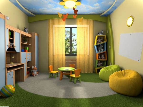 Creating A Play Room For Your Children