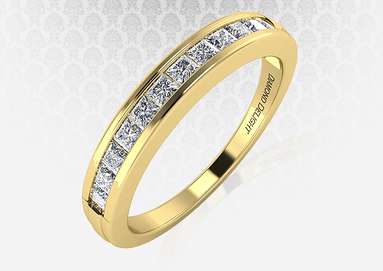 Diamond Delight Yellow Gold