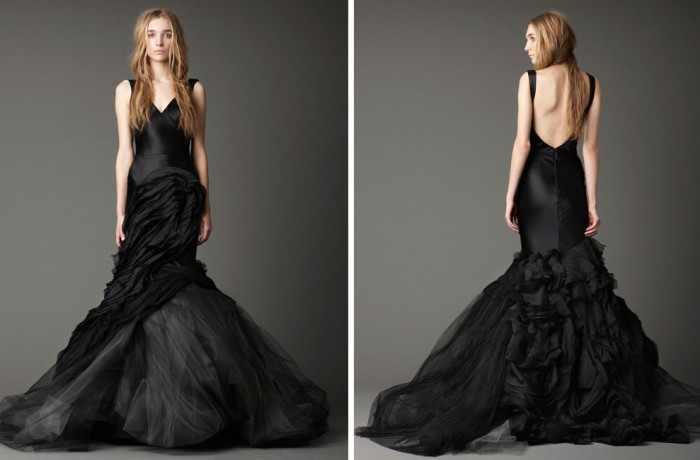 2016 Trends: Black Bridesmaid Dresses
