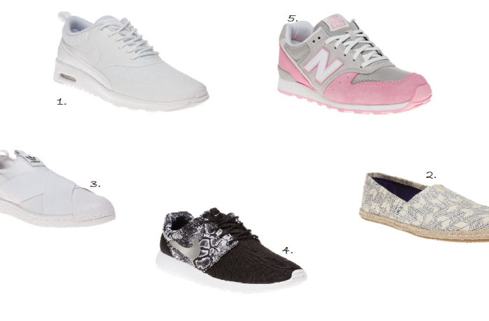 Trainer Trends According To AW15 and SS16 Collections