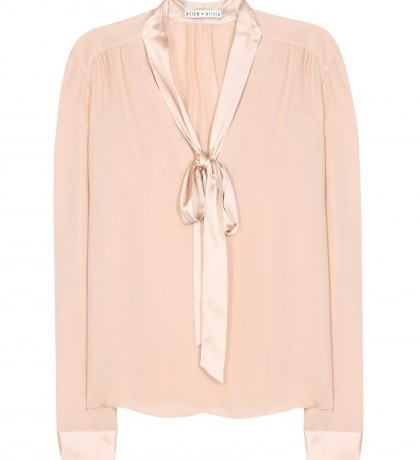 How To Wear The Pussy-Bow Blouse?