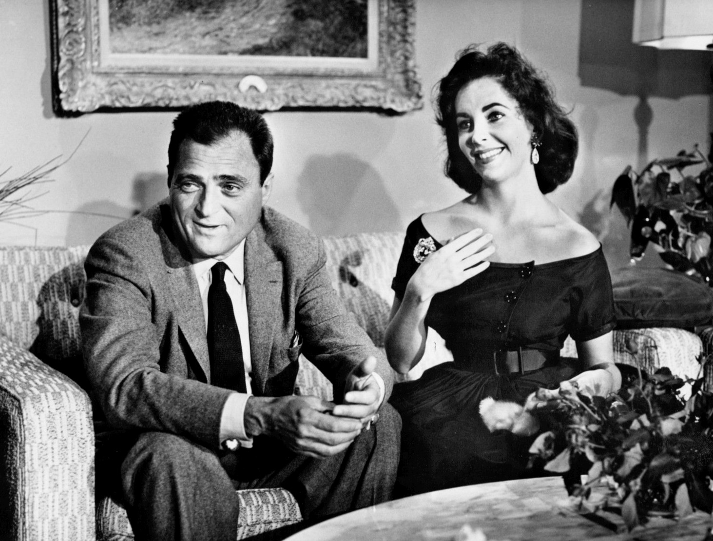 Mike_Todd_Elizabeth_Taylor_Around_the_World_in_80_Days_first_anniversary_special_1957