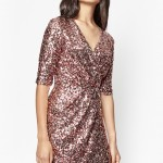 Knock 'Em Dead In This Gorgeous Sequin Wrap Dress