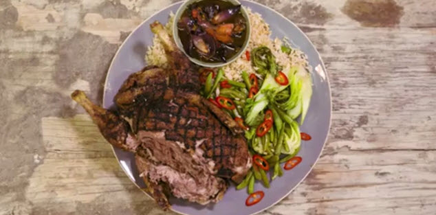 Sponsored Post: Jamie Oliver Creates A Slow Roasted Crispy Assam Duck With PG Tips