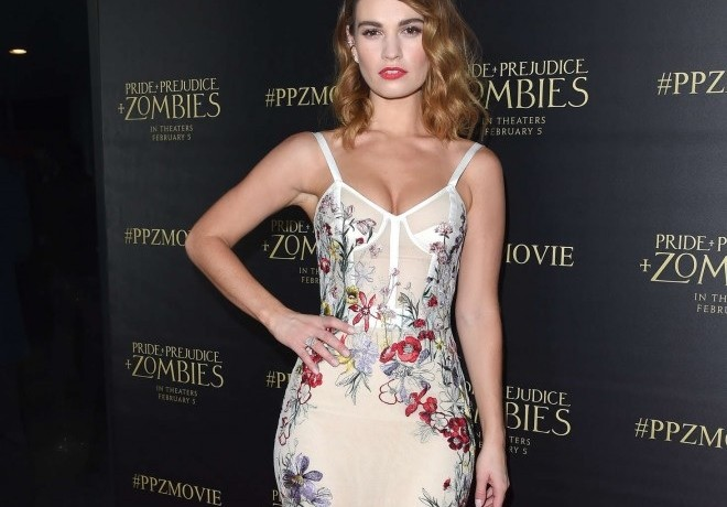 …Anyone Else Crushing On Lily James As Much As We Are?