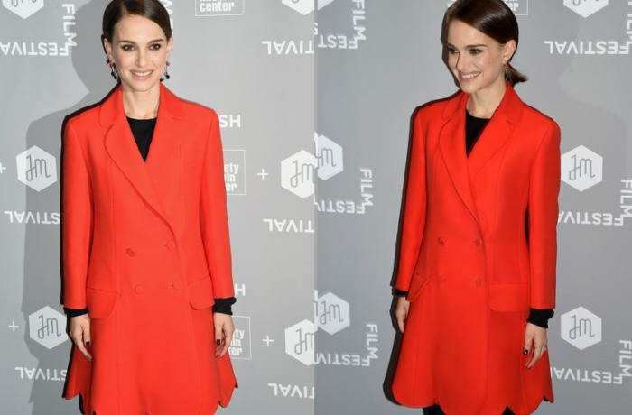 Up Your Coat Game With An Injection Of Striking Hot Red
