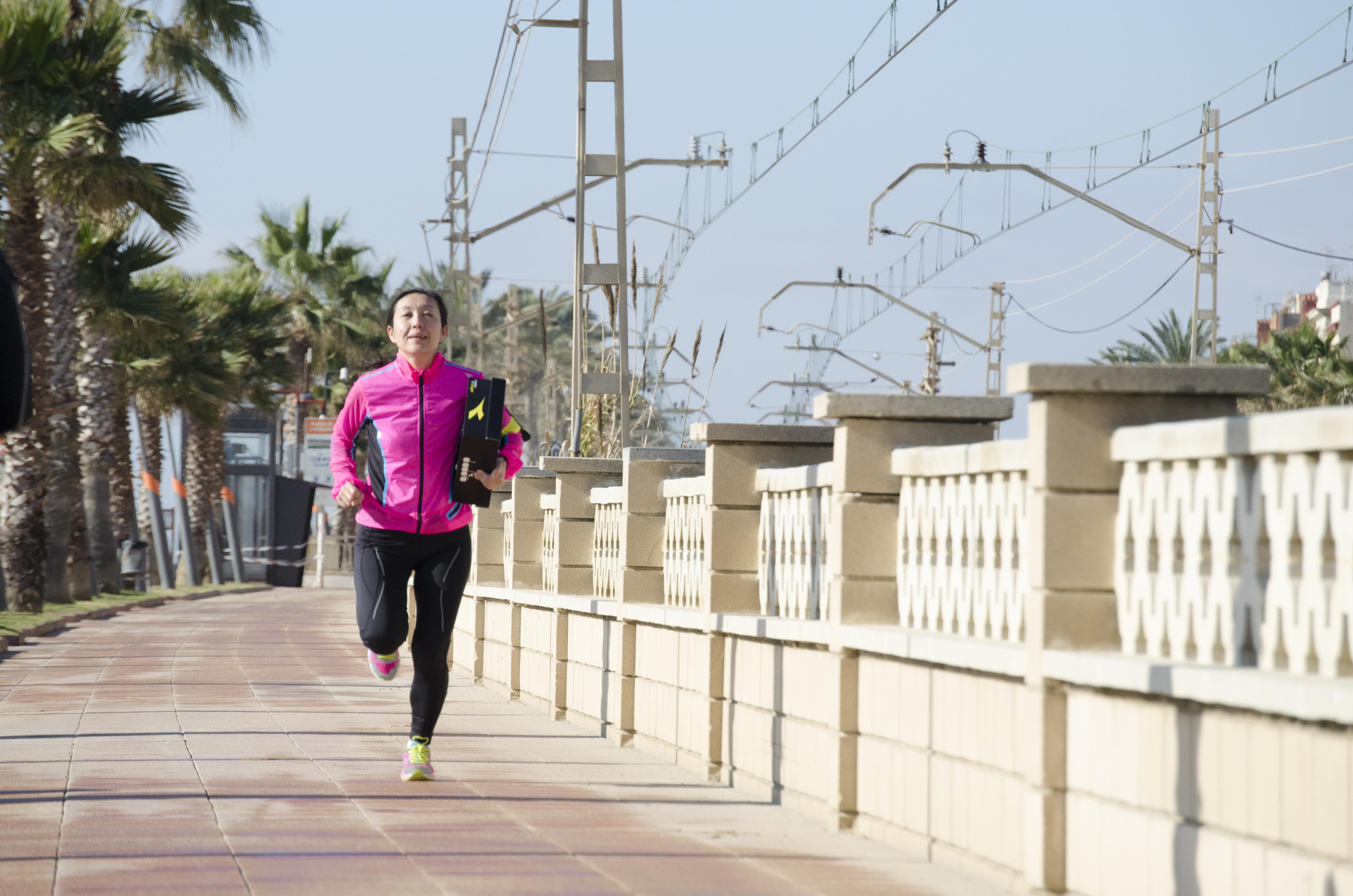 Rie_Yasui_running