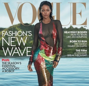 Rihanna Stuns on Vogue Cover & Opens Up About Beyonce Rivalry