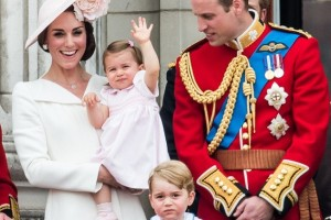 Princess Charlotte Makes Her First Royal Appearance