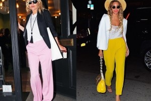 Outfit Inspiration: How To Wear Coloured Trousers?