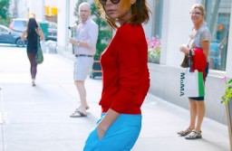 Yay Or Nay? Victoria Beckham Embraces Colour-Blocking