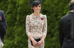 Best Dressed Of The Week: Kate Middleton At The Battle Of Somme Service