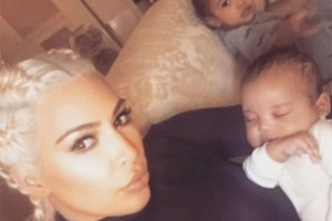 Kim Kardashian Shares Pics Of Saint West In New Edition Of Selfish