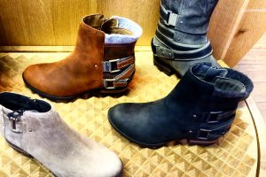 "Editor's Pick: SOREL ""Sturdy Yet Stylish"" Lolla Ankle Boots"