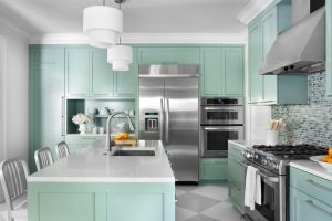 How To Add Unexpected Colour To The Kitchen