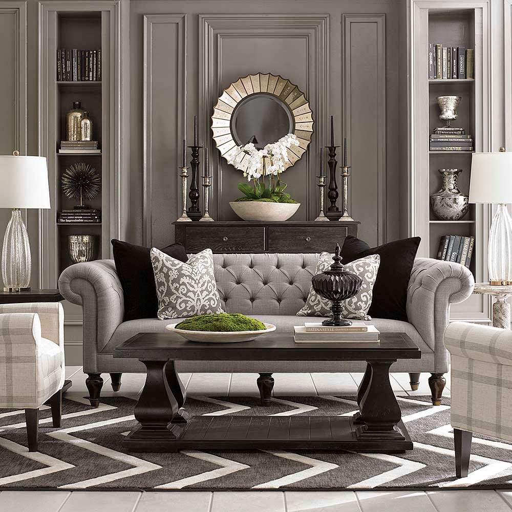How to pick the perfect chesterfield sofa for Chesterfield sofa living room ideas