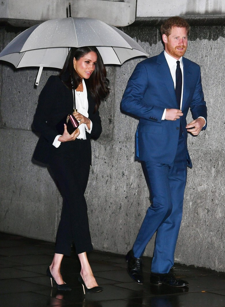 Meghan Markle Opts For Alexander McQueen At The Endeavour Fund Awards Ceremony