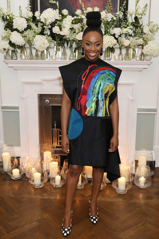 Chimamanda Ngozi Adichie Wearing Idma-Nof