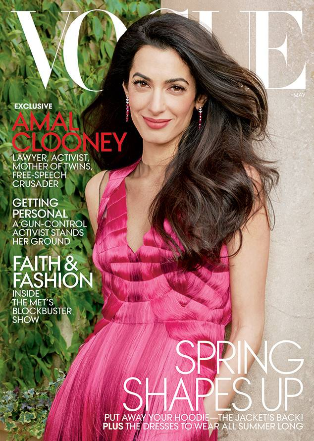 Amal Clooney Vogue Cover