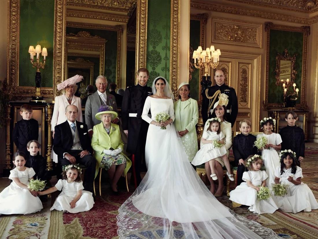 Meghan Markle And Prince Harry's Official Wedding Photos