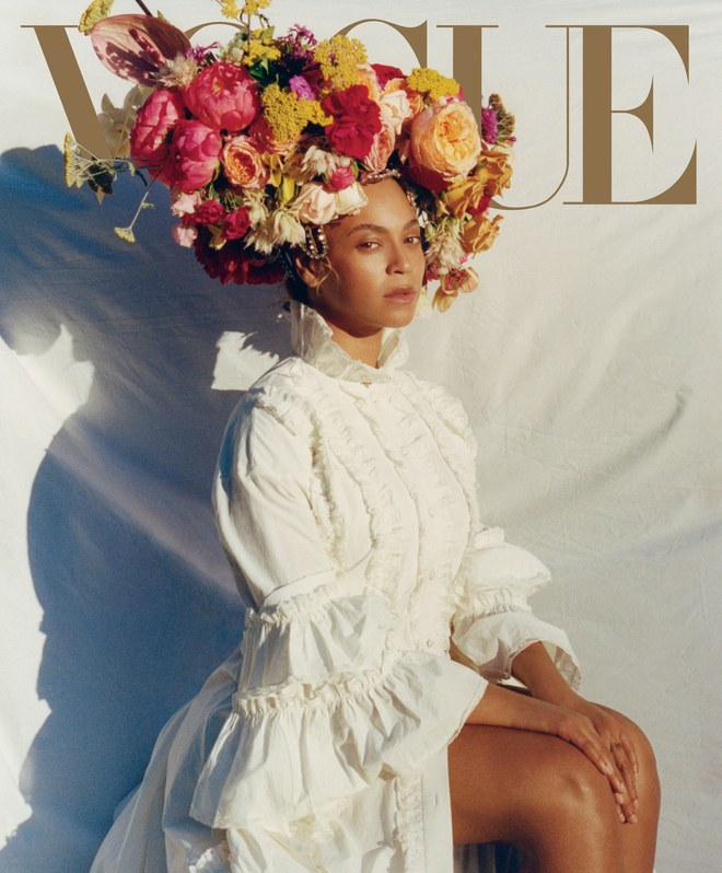 Beyoncé On The Cover Of Vogue's September Issue