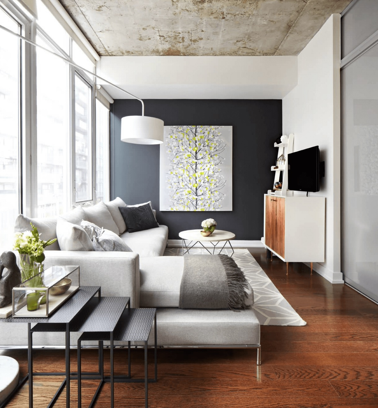 How To Create A Living Room Feature Wall – My Fashion Life