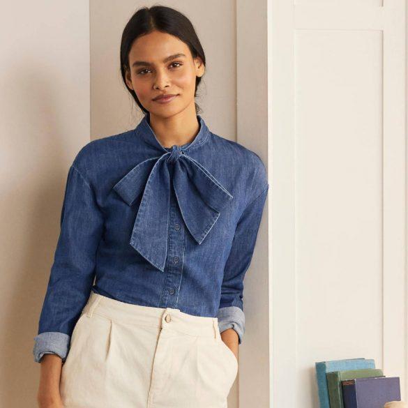 denim blouses